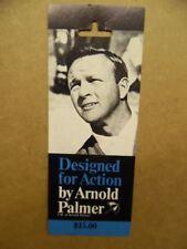 c.1970 ARNOLD PALMER Tailor's Bench Golf Pants Clothing Tag Endorsement Vintage