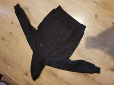 Boys/Girls Black Donnay hooded sweatshirt front pockets Age 11/12 years