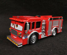 Disney Pixar Cars 3 TINY LUGSWORTH Race & Recue Firetruck 1/55 Loose No Box