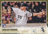 Carlos Rodon 2015 Topps Update Gold Parallel Rookie RC Chicago White Sox /2015