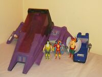 Kenner Super Powers collection action figure lot - Darkseid Destroyer, Cyclotron