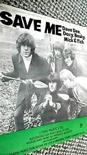 DAVE DEE, DOZY, BEAKY, MICK & TICH: SAVE ME (SHEET MUSIC)