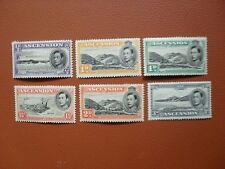 Ascension Island pictorial defs. to 3d.1938 (6) MM standard Perf 13 1/2 cv£101 .