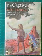 Scott O'Dell - The Captive - 1979 Vintage Hardcover 1st First Edition w/ DJ