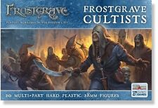 NORTH STAR Miniatures frostgrave cultists 20 multiparte in plastica rigida 28mm FICHI