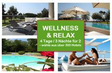 Wellness+Relax 4 Tage zu zweit,DZ, ca.1.700 Hotels bis 5*Sterne -über 80% Rabatt