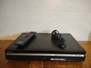 SONY RDR-HXD770 DVD & HDD RECORDER with DVB Freeview HDMI 120GB