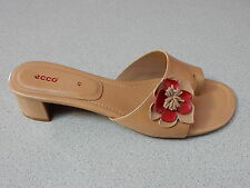 "ECCO  ""CITY CHICAGO""  LEATHER  SANDALS  LADIES  US 6-6.5 med  EURO 37  NEW"