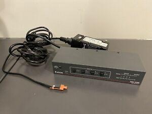 EXTRON 33-2418-0 SW4 HDMI 4X Input  HDMI Switcher Switch W/ EDID Minder & Power