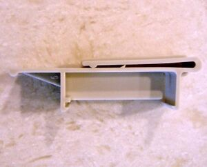 VERTICAL BLIND OUTSIDE MOUNT VALANCE CLIP GRAY FIT DELMAR AND MANY OTHERS #5005