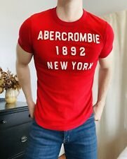 ABERCROMBIE & FITCH Muscle fit graphic tee - Mens medium New York 1892 t-shirt