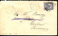 QUEENSLAND 1904 - 2d BLUE TATTERSALL's Cover - 290 Murray Street, Hobart [L0004]