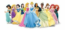 Disney Princess 30x14 Inch Canvas - VERY rare Disney Framed Picture Art
