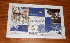 Josh Clayton Felt Inarticulate Nature Boy Stamps Sheet Promo 9.5x5.5 Rare