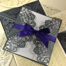 Bargain Laser Cut Wedding Invitations & Cards, DIY Wedding Stationery.