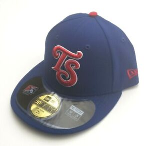 New Era Tennessee Smokies MILB 59Fifty 2015 Alternate Fitted Hat Blue Size 7 1/8