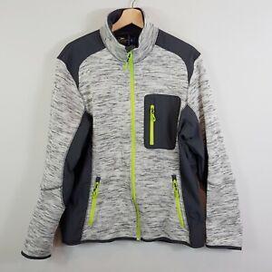CRANE Mens Size L Snow Extreme Zip Up Jacket