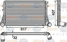 INTERCOOLER FITS SEAT ALHAMBRA VW PASSAT SHARAN TIGUAN HELLA 8ML376746-741