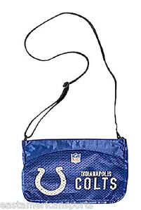 Indianapolis Colts NFL Jersey Mini Purse Tote Case Bag Littlearth Girls Handbag