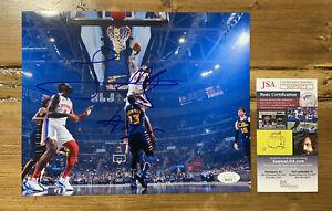 SEKOU DOUMBOUYA Signed 8x10 Photo Detroit Pistons ROOKIE JSA COA AUTO