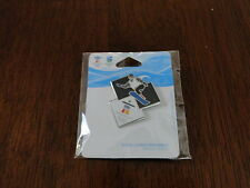 2010 Vancouver Winter Olympics Double Diamond Snowboarder Pin NEW
