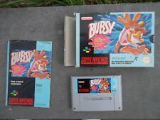 Jeu Super Nintendo / Snes Game Bubsy Pal Complet original CIB *