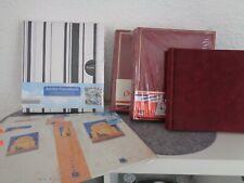 4 Fotoalben und 3 Einsteckbücher
