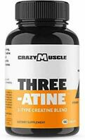 Creatine Pills (2 Month Supply) 5,000mg Per Serving - 180 Creatine Tablets