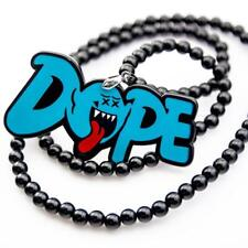 JDM Mario Ghost Letter Dope Car Rearview Mirror Hanging Charm Dangling Pendant
