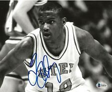 Tim Hardaway Warriors Heat signed UTEP Miners 8x10 photo autographed BAS Beckett