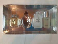 Calvin Klein Cologne 4pcs Travel Size For Men Gift Set - 0.5oz / 15ml Splash New