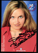 Sandra Bardenbacher Autogrammkarte Original Signiert ## BC 23691