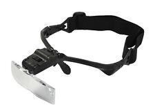 Magnifier Magnifying Head Visor Set Eyeglass LED Light Up To 3.5X Illuminated