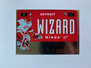 1996-97 Leaf Preferred Vanity Plates #3 Chris Osgood - Detroit Red Wings
