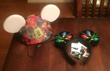 Disney World of Color Glow With The Show Mickey Ears Light Up Hat & Headband