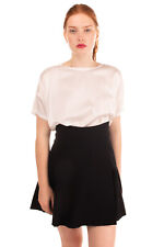 RRP€445 ISABEL MARANT Flare Skirt Size 42 / M Crumpled Effect Wrap Front Unlined