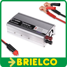CONVERTIDOR INVERSOR TENSION 12VDC A 220VAC 1000W PINZAS TOMA DE MECHERO BD11761