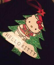 Hello Kitty Kawaii Christmas Tree Decorations Red Green Cute Sanrio Santa