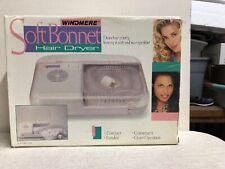 Vintage Windmere Soft Bonnet Hairdryer Portable SBD-40 Hair Dryer.