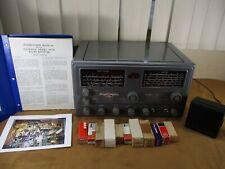 Vintage National Model NC-98 Multi-Band Radio w/ Tubes, Manual, & Speaker