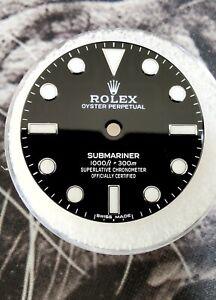 Rolex No Date Submariner Ceramic BLACK DIAL 114060 Genuine Factory