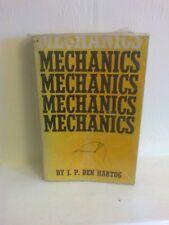 Mechanics by J P Den Hartog