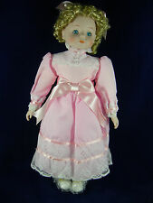 "Allison Vintage Porcelain Doll 16"" by Victoria Impex Spirit of Love Collection"