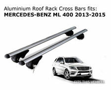 Aluminium Roof Rack Cross Bars fits MERCEDES BENZ ML 400 2013-2015