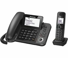 Panasonic KX-TGF320E Corded & Cordless Phone Combo Home Office Answer Machine