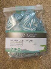 Eco Tools Green & White Reusable Shower Cap & Case, 1 Set