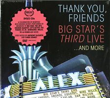 Big Star's Third Live Thank You Friends Deluxe Ed.2 CD+DVD Nuovo Sigillato