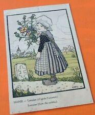 Carte postale ancienne(1916) Illustrateur Hansi  Lorraine