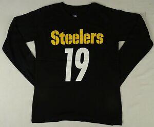 Pittsburgh Steelers #19 'Juju Smith-Schuster' NFL Apparel Boys T-Shirt