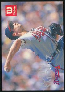 1996 John Smoltz Wilson Sporting Goods Japanese Baseball Card Atlanta Braves